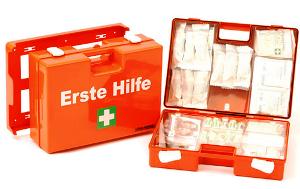 Erste Hilfe Verbandskästen