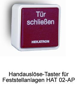 Handauslöse-Taster Hekatron