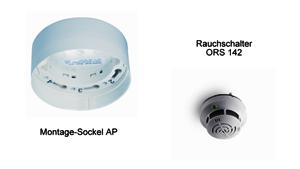 Rauchschalter ORS 142 mit Sockel AP